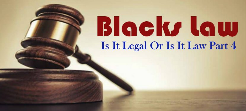 Blacks Law